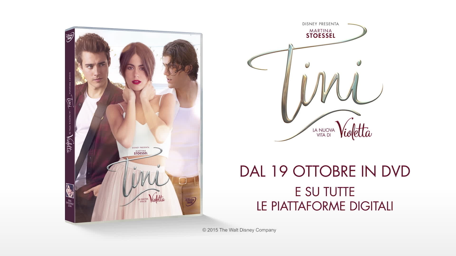 Tini in DVD