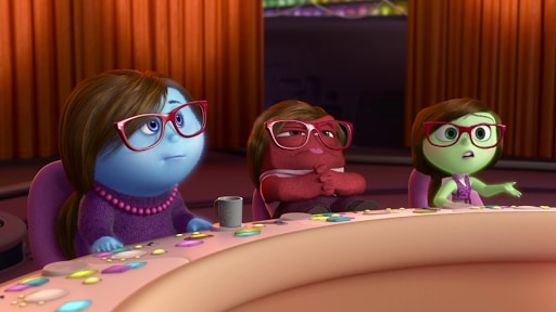 Emotions At The Dinner Table - Inside Out Clip