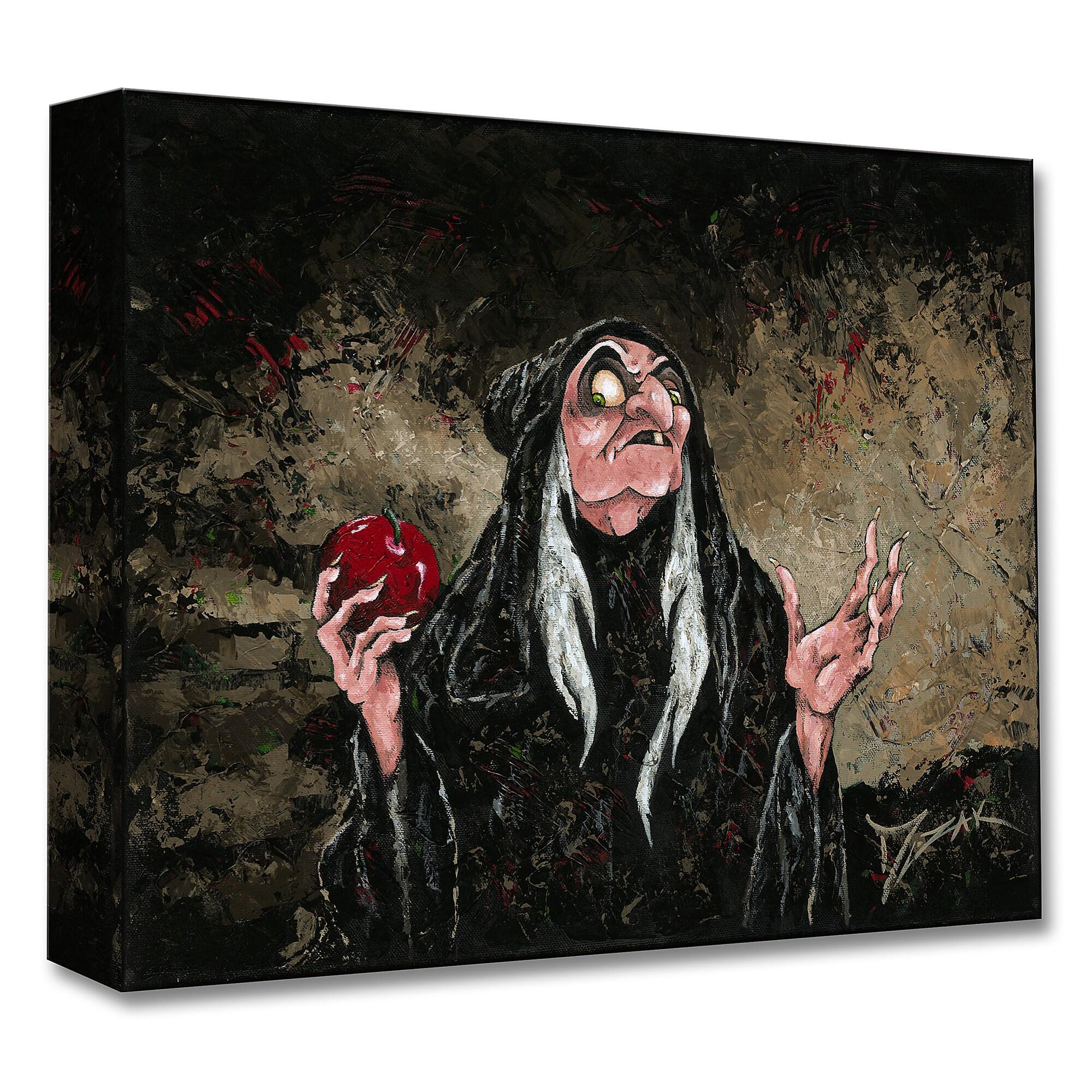 Evil Queen as Hag ''The Magic Wishing Apple'' Giclée by Trevor Mezak