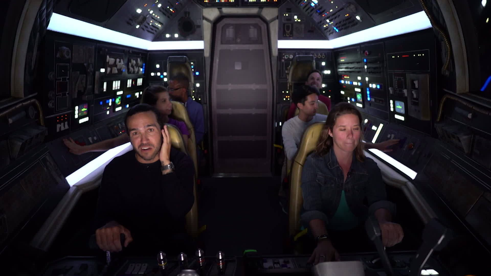 Pete Wentz at Star Wars: Galaxy's Edge at Disneyland | ARDYs: A Radio Disney Music Celebration
