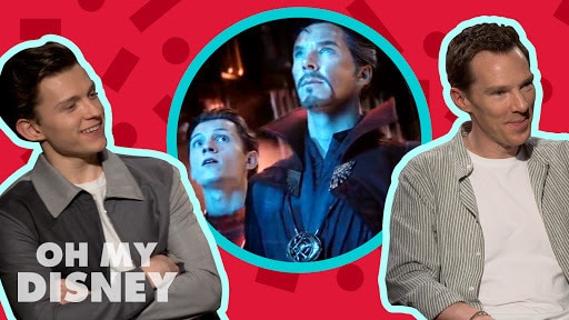 Everything We Learned About Tom Holland and Benedict Cumberbatch | Oh My Disney Show by Oh My Disney