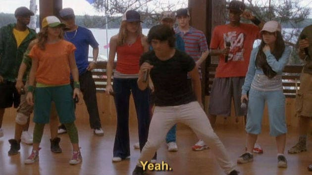 Start the party - Camp Rock