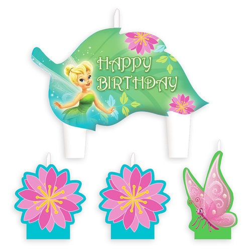 Tinker Bell Birthday Candle Set