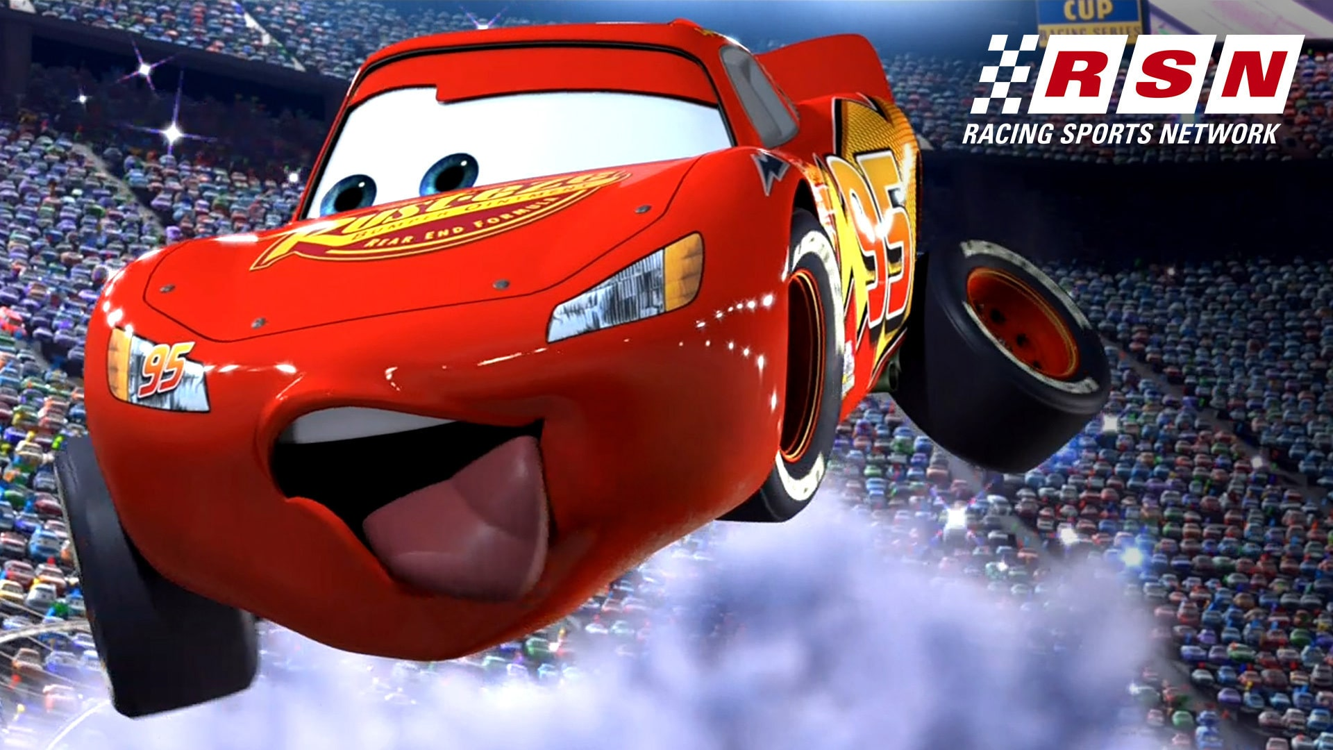 c86287ec Under the Hood Featuring Lightning McQueen | Racing Sports Network by Disney