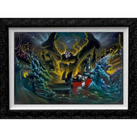 Image of Sorcerer Mickey Mouse ''Great Flood'' Limited Edition Giclée by Noah # 1