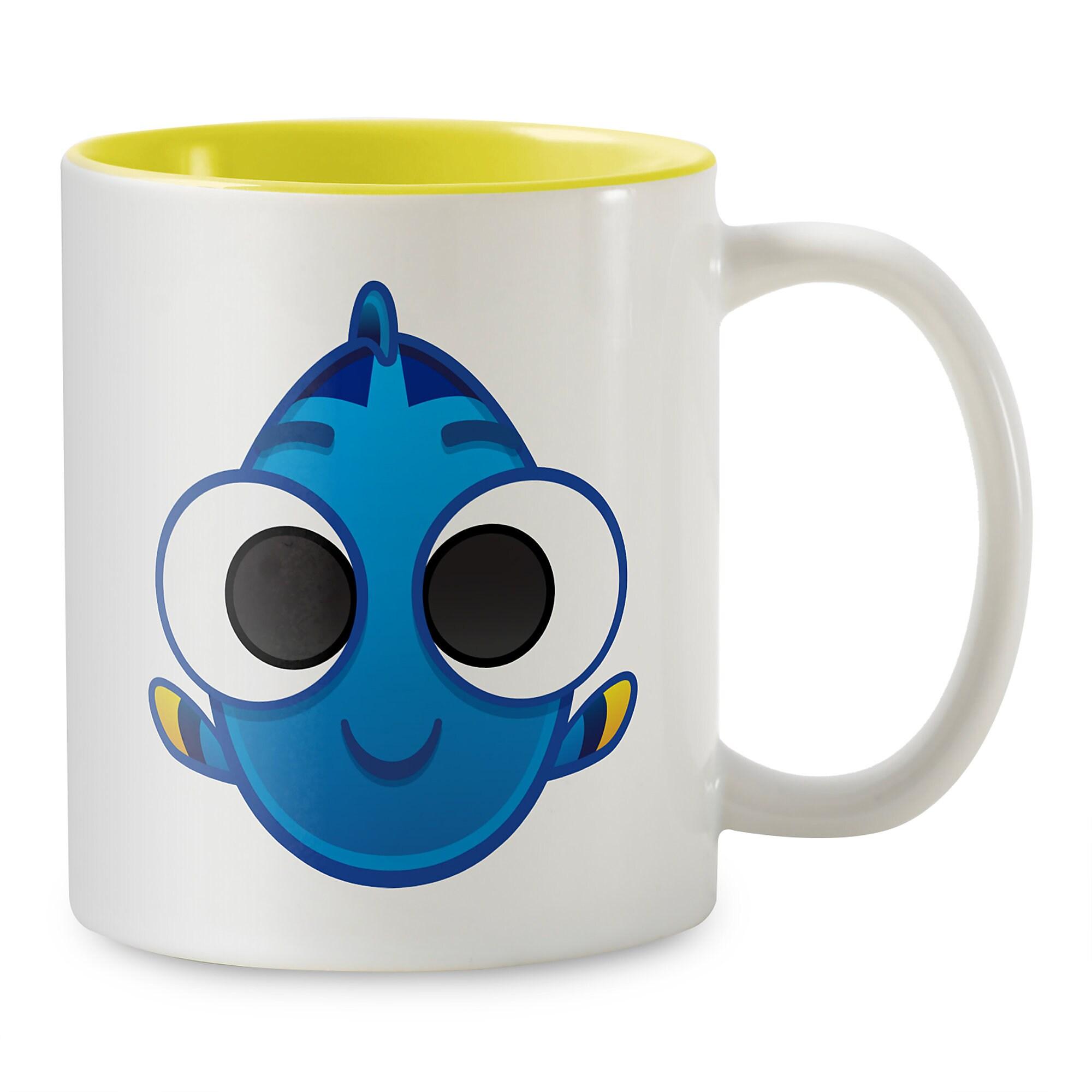 Dory Emoji Two-Tone Mug - Customizable