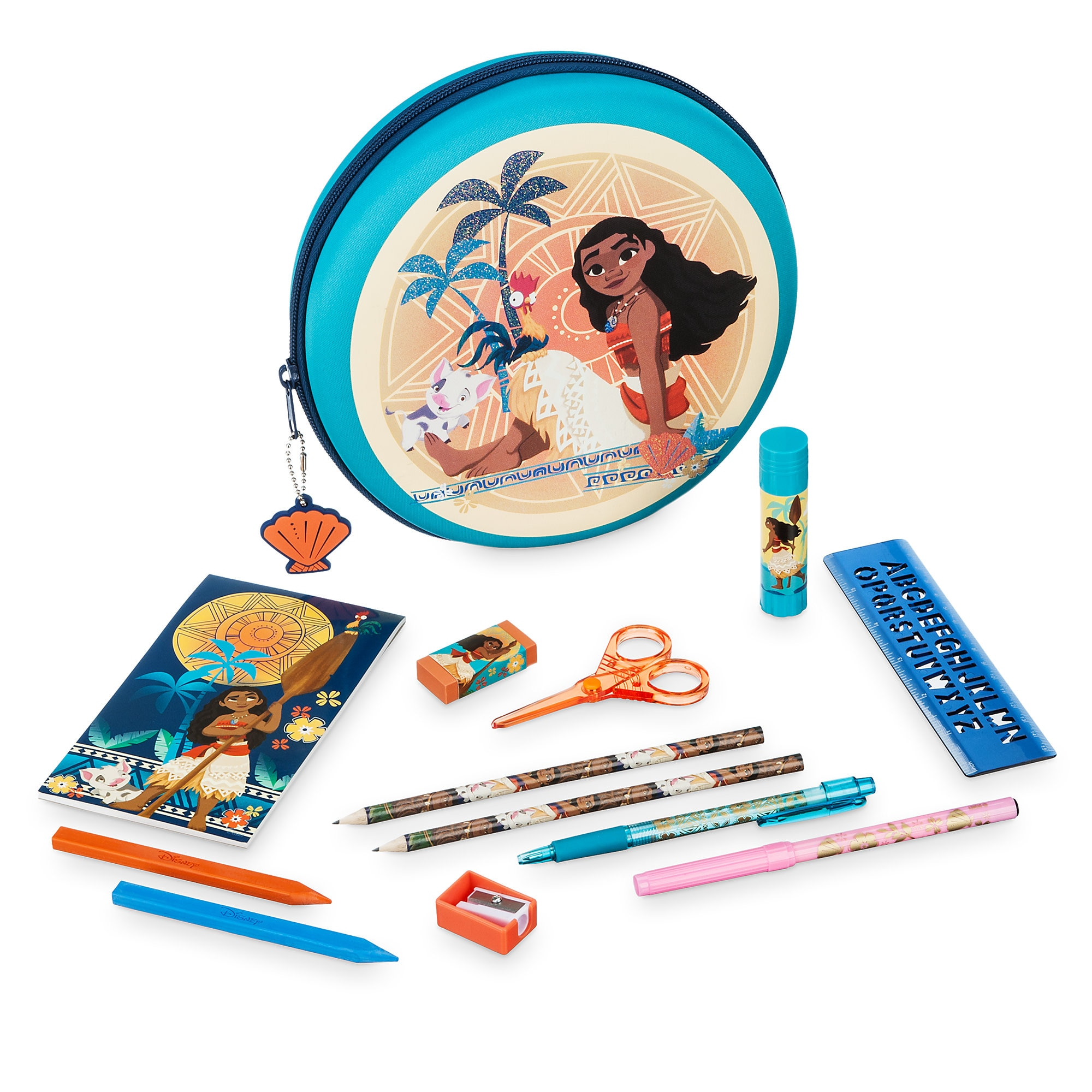 Moana Zip-Up Stationery Kit