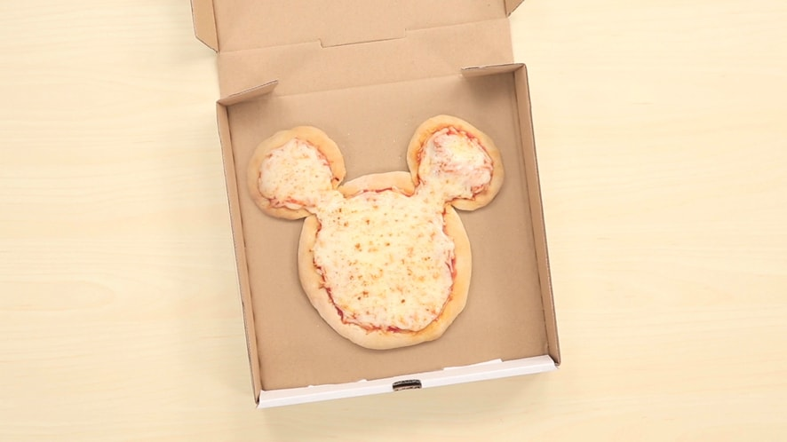 Mickey Mouse Cheese Pizza | Dishes by Disney by Disney Family