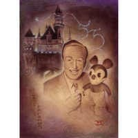 Image of ''Walt and Mickey 55th'' Giclée by Noah # 1