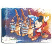Image of Mickey Mouse ''Magical March'' Giclée by Michelle St. Laurent # 1