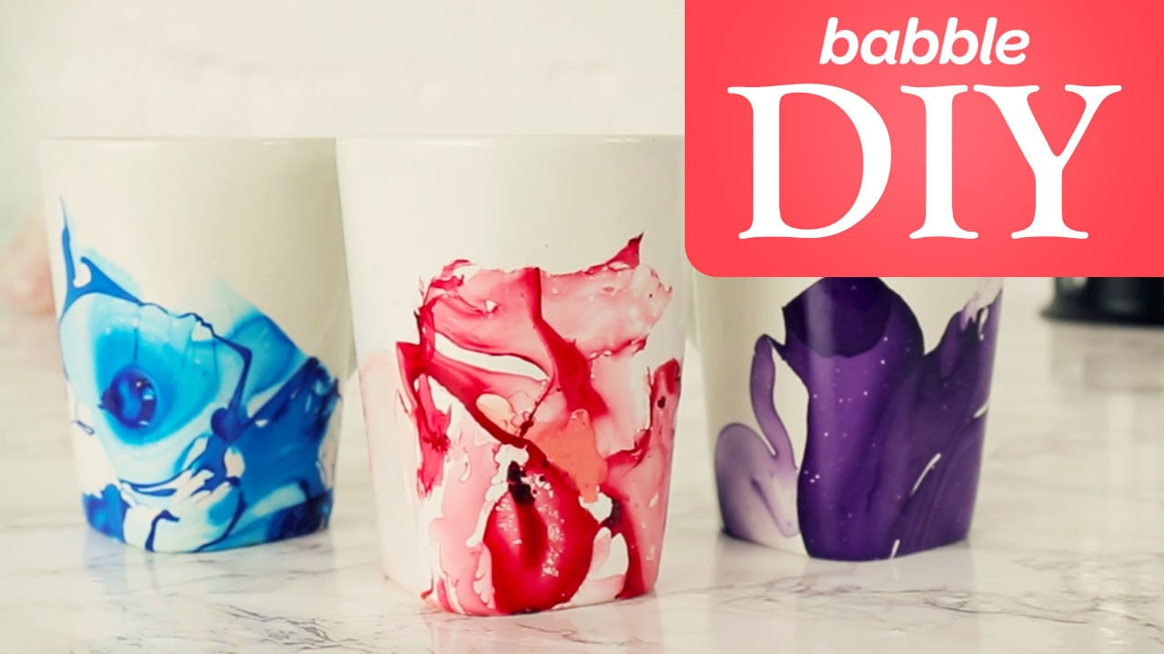 Nail Polish Mugs   Babble DIY