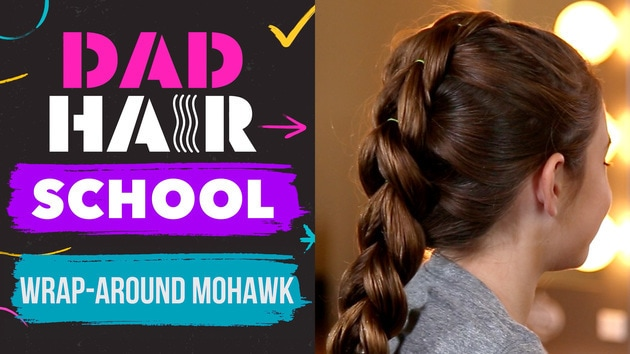 Wraparound Mohawk | Dad Hair School