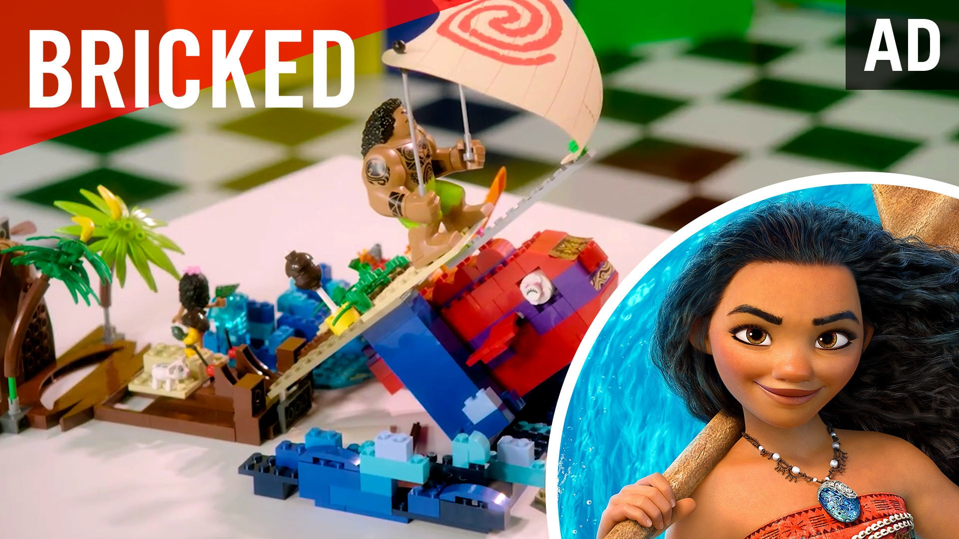 Disney Bricked | LEGO Build Challenge | Moana