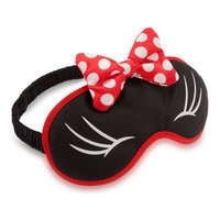 Image of Minnie Mouse Plush Sleep Mask for Women # 2