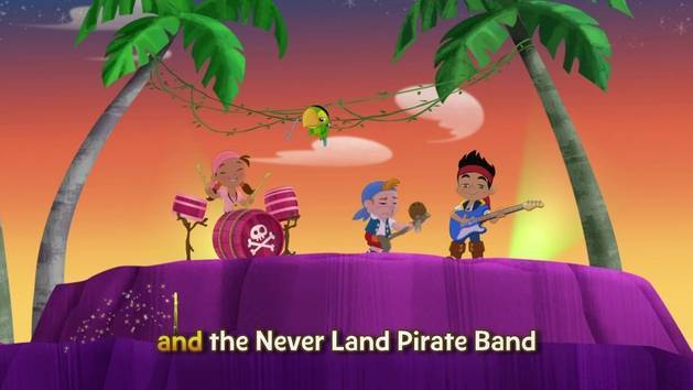 Music Video: Never Land Pirate Band Sing-Along