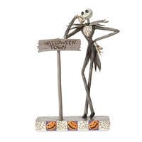 Jack Skellington ''Welcome to Halloween Town'' Figure by Jim Shore
