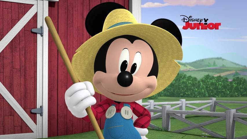 Mickey Mouse e Seu Amigo Pluto | O Trator Descontrolado do Mickey