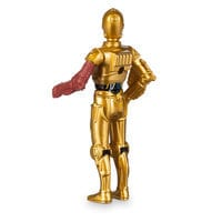 Image of C-3PO Mini Metal Action Figure by Takara Tomy - Star Wars: The Force Awakens # 4