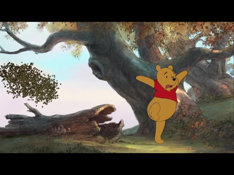 Winnie l'Ourson - Winnie prend soin de son bidon