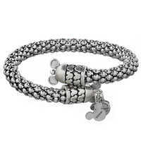 Image of Mickey Mouse Metal Wrap Bracelet by Alex and Ani # 3