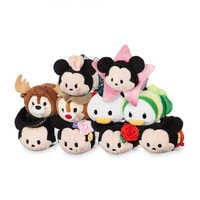 Image of Mickey Mouse and Friends ''Tsum Tsum'' World Locations Collection # 1
