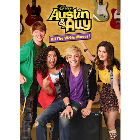 Austin & Ally: All The Write Moves! DVD