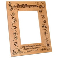 Walt Disney World Winnie the Pooh Photo Frame by Arribas - Personalizable