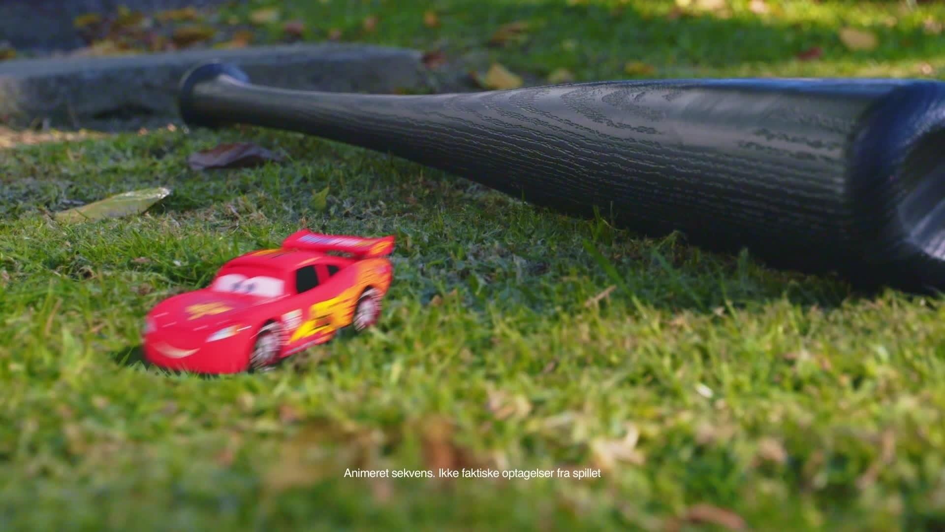 Fodboldkampen - Cars Daredevil Garage