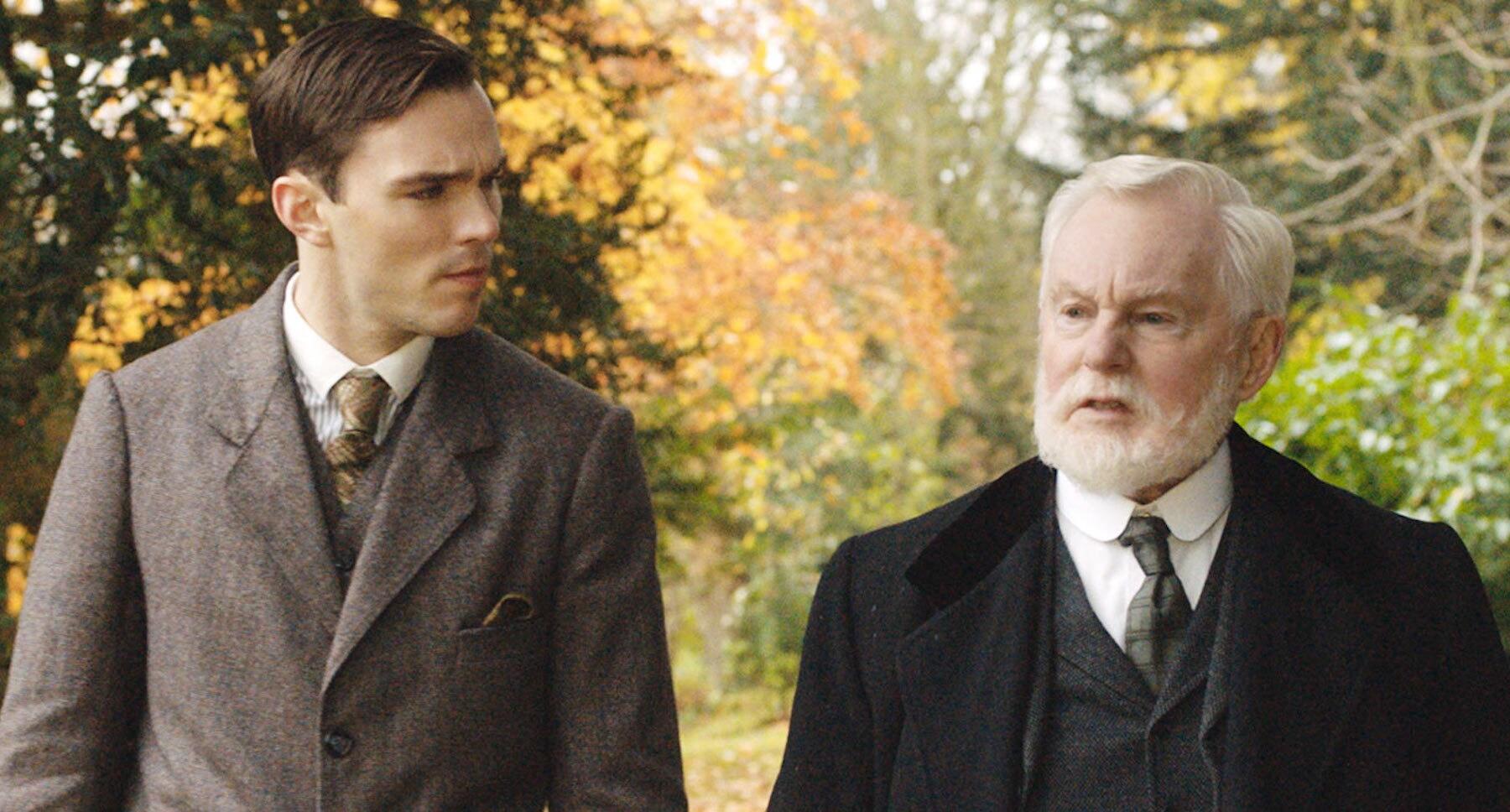 """Nicholas Hoult and Derek Jacobi in """"Tolkien"""""""