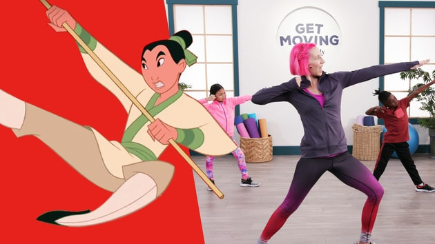 Mulan | Get Moving With Disney Family by Disney Family