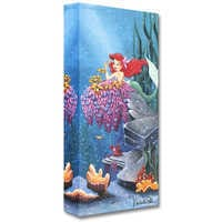 Image of The Little Mermaid ''He Loves Me'' Giclée by Michelle St.Laurent # 1