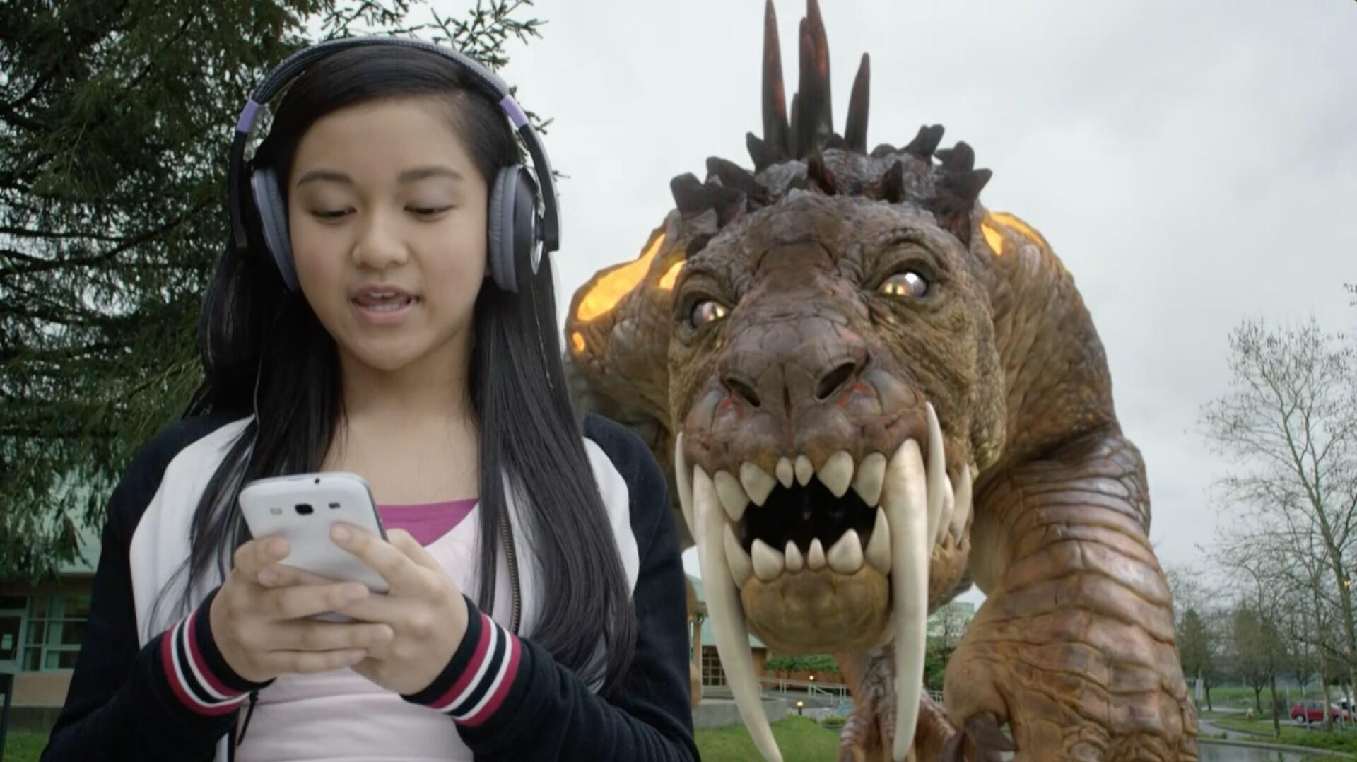 Gatosaurio vs. Millenial Mech-X4