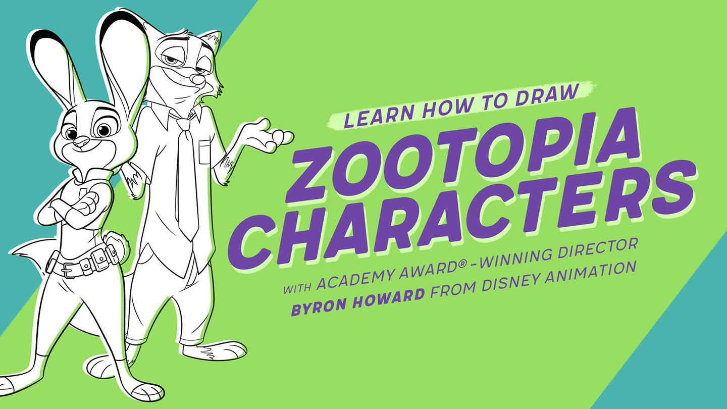 Disney Quick Draw Zootopia | Disney