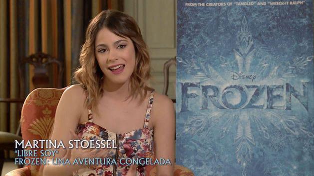 Martina Stoessel - Frozen: Una Aventura Congelada