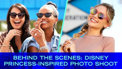 Behind the Scenes: Disney Princess-Inspired Photo Shoot