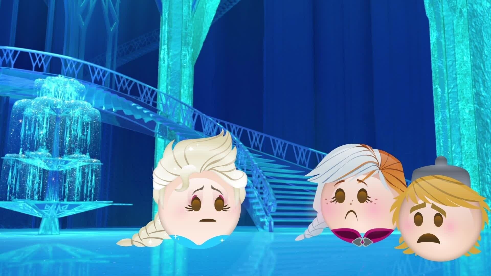 La Reine des Neiges - L'histoire en emojis