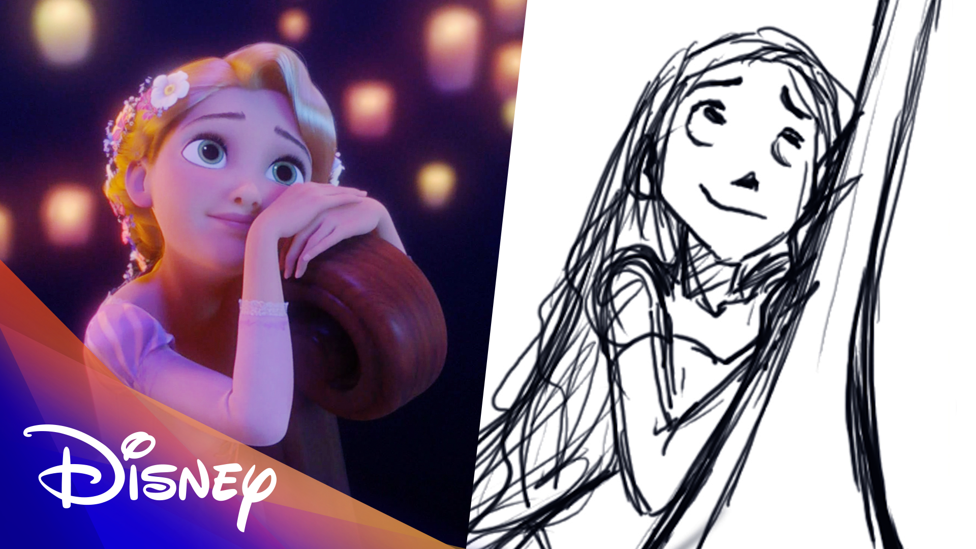 Tangled Side by Side | Disney