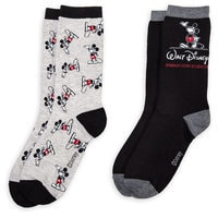 Mickey Mouse Walt Disney Animation Studios Socks for Adults - 2-Pack