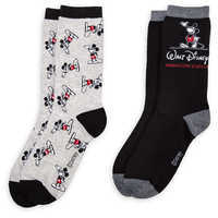Image of Mickey Mouse Walt Disney Animation Studios Socks for Adults - 2-Pack # 2