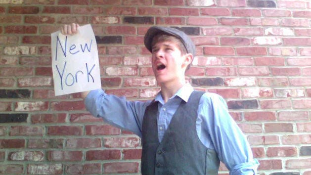 King of New York Fan Lyric Video - Newsies