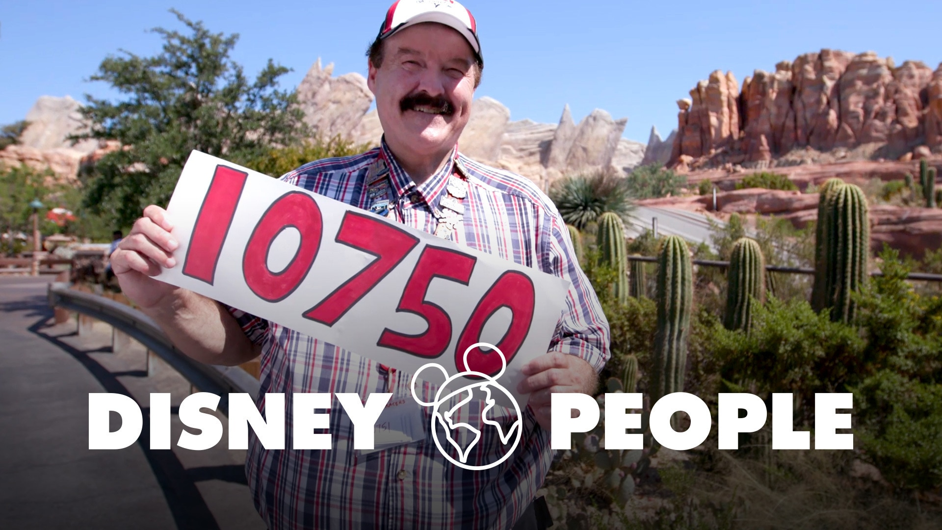 He Went on Radiator Springs Racers 10,750 Times | Disney People by Oh My Disney