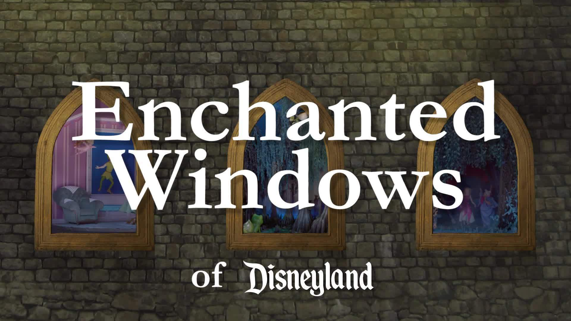 Enchanted Windows: The Princess and the Frog