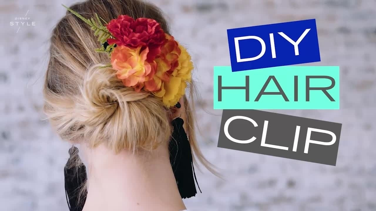 Disney Style DIY | Marigold Hair Clip Inspired By Coco