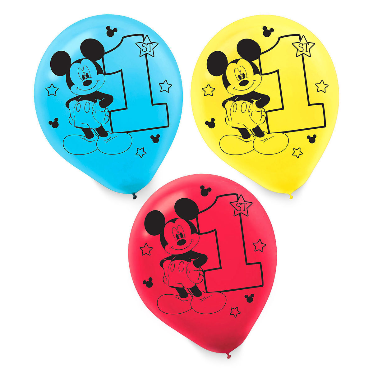Product Image Of Mickey Mouse 1st Birthday Balloons 1