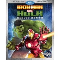 Image of Iron Man and Hulk: Heroes United Blu-ray 2-Disc Combo Pack # 1