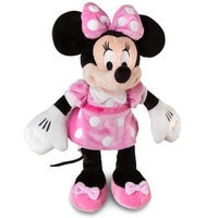 Minnie Mouse Plush - Pink - Small - 12''