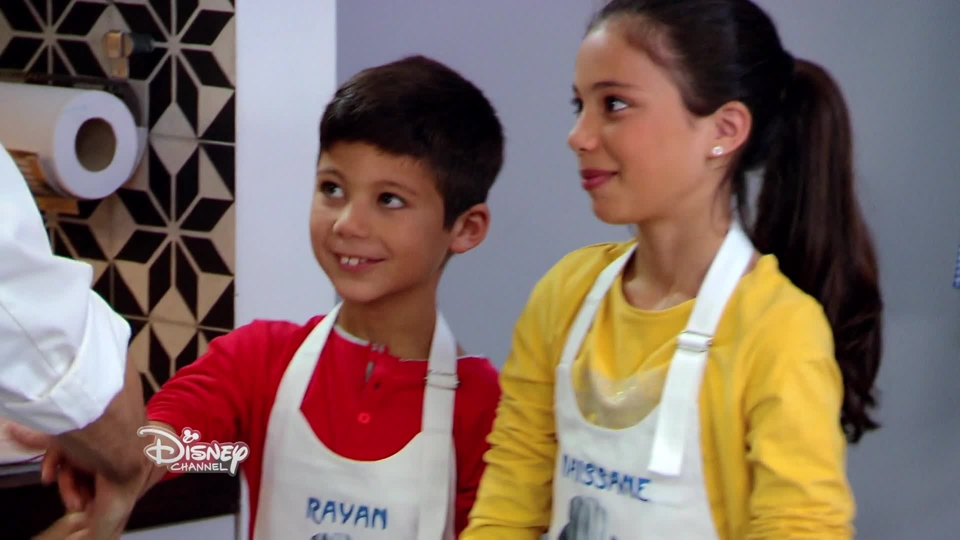 Le Vol-au-vent aux champignons de Rayan et Maissane - Chez Rémy tout le monde peut cuisiner - Partie 1