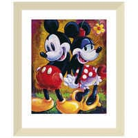 Image of Mickey Mouse and Minnie ''Two Hearts'' Giclée by Darren Wilson # 5