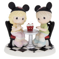 Disney Girl and Boy ''Treat Being With You'' Figurine by Precious Moments