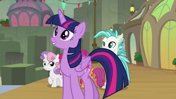My Little Pony: Freundschaft ist Magie - Oben oder unten?